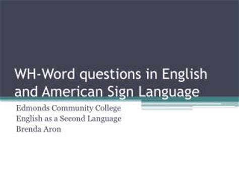 Ppt  Questions In English Powerpoint Presentation Id398593