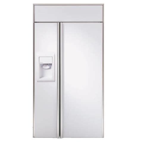 ziswdm ge monogram  built  side  side refrigerator  dispenser monogram appliances