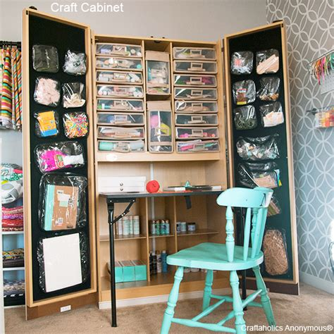 Craftaholics Anonymous®  Craft Cabinet The Craftbox