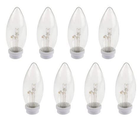 Bethlehem Lights Replacement Bulbs by Bethlehemlights Set Of 8 Glass Replacement Led Bulbs