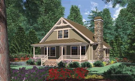 Cottage House Plans by Cottage House Plans With Porches Cottage Cabin House Plans