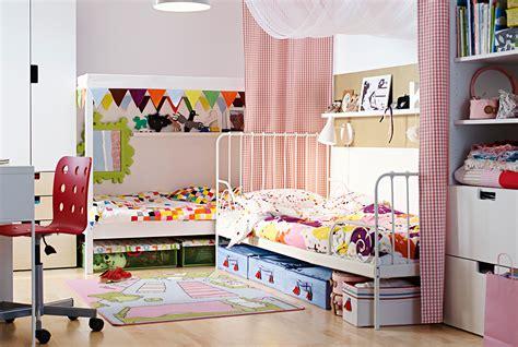 chambre do chambre partagée enfants comblés ikea