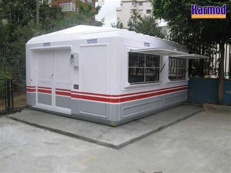 bureaux de tabac cabines polyester bureau ou guérite mobile karmod karmod