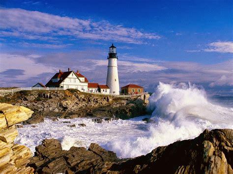 Maine, New England  Tourist Destinations
