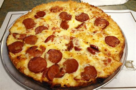cuisine food photo linguica pizza from christo 39 s restaurant closed