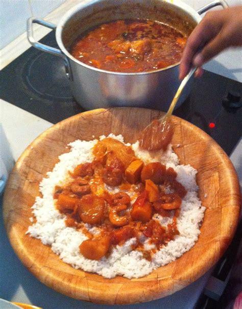recette cuisine senegalaise thiou aux crevettes recette sénégalaise recettes