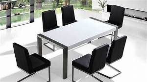 Table 180 Cm : beliani dining table stainless steel high gloss top ~ Teatrodelosmanantiales.com Idées de Décoration