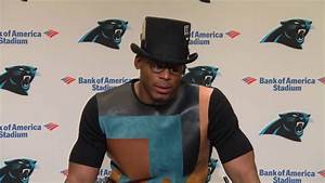 Cam Newton Postgame Outfit Yesterday