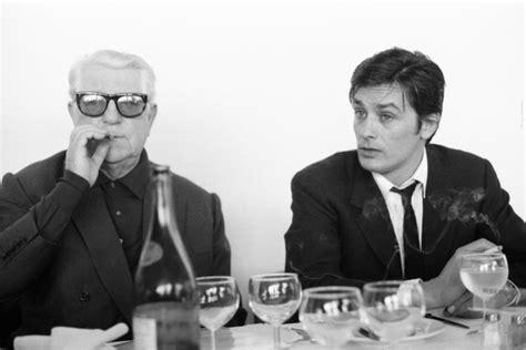 jean gabin und alain delon jean gabin mito del cinema francese parigi con maigret