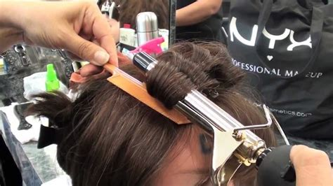 cosmetology curling iron procedure  state board youtube