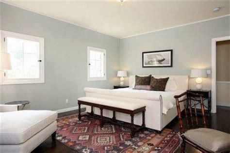 blue gray walls transitional bedroom farrow ball