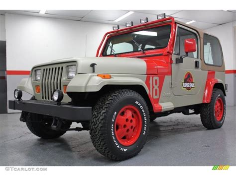 Park Wrangler by Jurassic Park 1994 Jeep Wrangler Se 4x4 Exterior