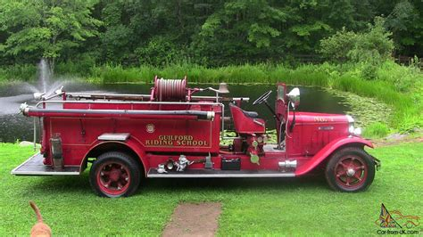 1931 Gramm Howe Antique Vintage Fire Engine Truck Antique Hand Carved Furniture Decorative Books Entertainment Centers Chest Of Drawers Dressers And Chests Appraisals Online Mobile Al British Antiques Roadshow