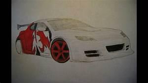Mazda Rx8 Drawing