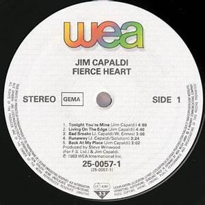 Jim Capaldi - Fierce Heart (WEA 25-0057-1) (GER 1983 ...