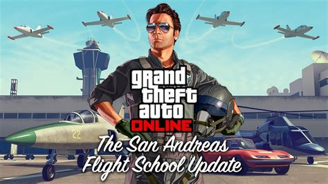 Gta 5 Flight School Dlc Official Trailer & Release Date