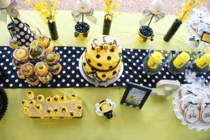 Bees Baby Shower Theme