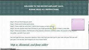 MOVIESTARPLANET HACK 2014 REAL - YouTube