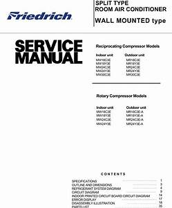 Friedrich Mr18c3e Users Manual M18 30  Including Dash A S