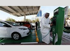 2017 The UAE's Year For An EV Charging Boom CleanTechnica