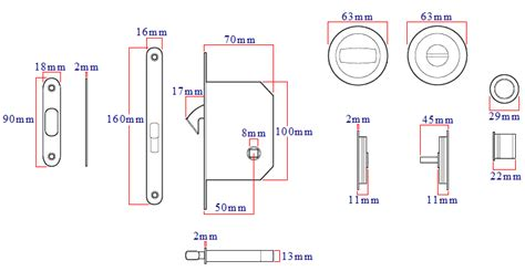 bathroom hook lock  sliding pocket doors  turn