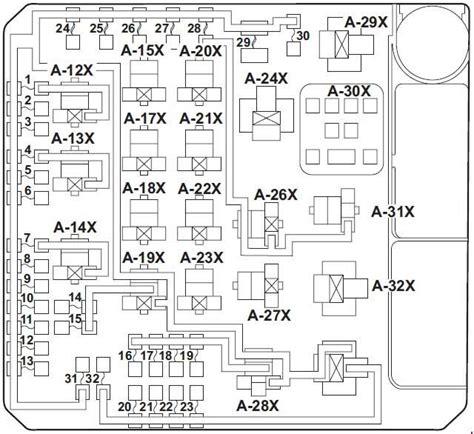 Fuse Box 2002 Mitsubishi Lancer by 2008 Lancer Interior Fuse Box Diagram