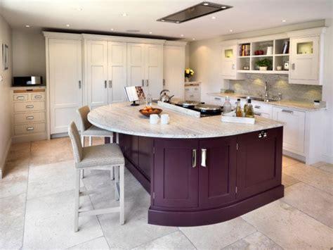 divine modern kitchen designs  curved kitchen island