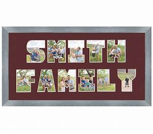 double lined letter mat frame moments that matter With letter picture frame mats