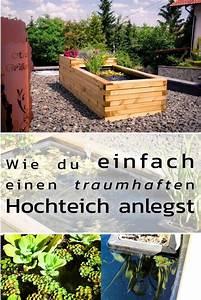 Hochteich Selber Bauen : hochteich anlegen diy basteln selbermachen hochteich ~ A.2002-acura-tl-radio.info Haus und Dekorationen