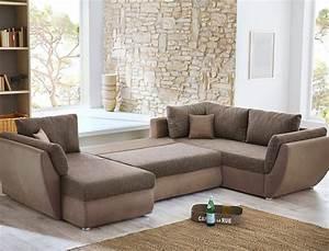 U Form Sofa : wohnlandschaft sofa 326x231x166cm couch mikrofaser lava braun u form ontario ebay ~ Buech-reservation.com Haus und Dekorationen