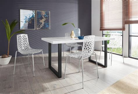 Tisch Mit Verschiedenen Stühlen by Essgruppe 187 Manger Michael 160 171 Mit 4 St 252 Hlen Tisch Mit U