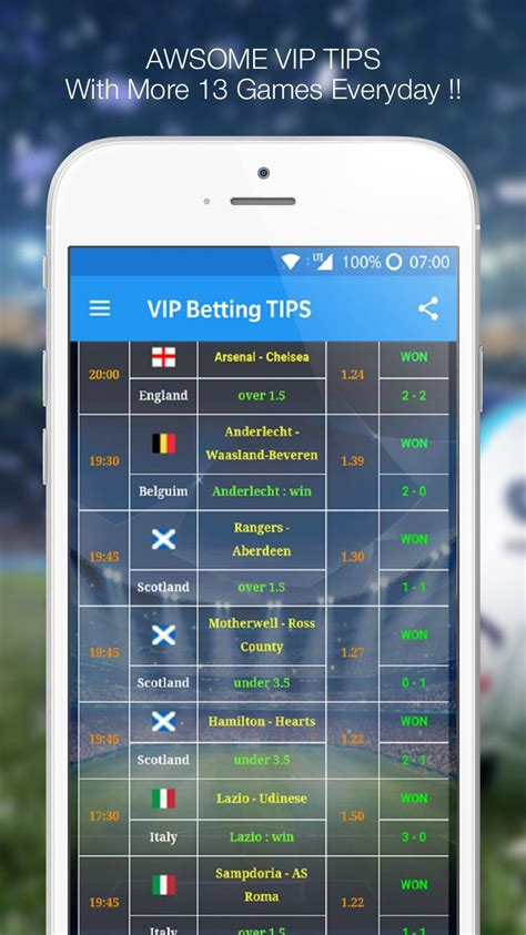 Betting TIPS VIP : DAILY PREDICTION for Android - APK Download