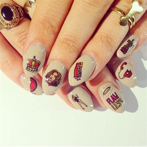 playful starlet nail art beyonce nail decals