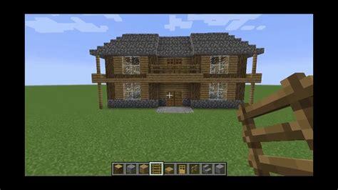 minecraft     medium size house  survival youtube