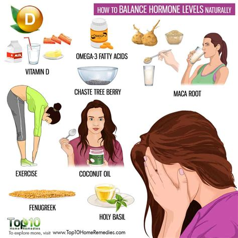 How To Balance Hormone Levels Naturally  Top 10 Home Remedies