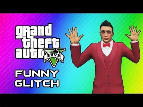 Gta 5 Online Invincible Paralyzing Glitch (funny Moments