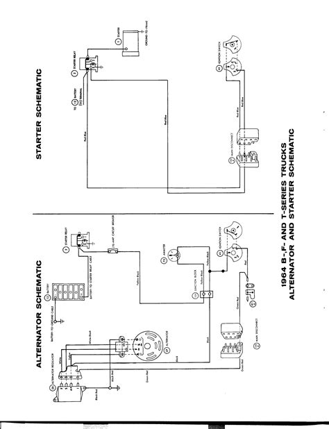 Ford Truck Alternator Diagram by Ignition Circuit Diagram For The 1942 48 Ford 8 Cylinder