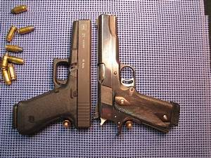 Glock 17 Vs 1911 | www.pixshark.com - Images Galleries ...