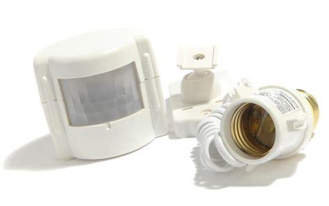 motion sensor light adapter best outdoor motion sensor light bulb adapter