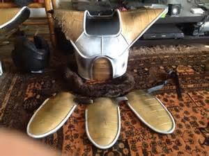 Dragon Ball Z Saiyan Armor
