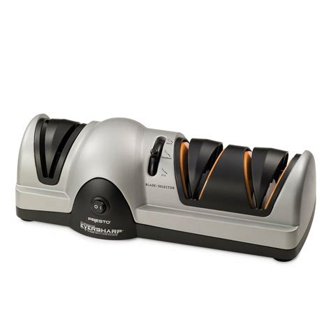 Test Kitchen Electric Knife Sharpener by Presto Professional Electric Knife Sharpener Kitchen