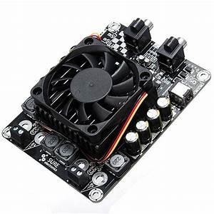 Sta508 2 X 100w 4 Ohm Class D Audio Amplifier Board Stereo T