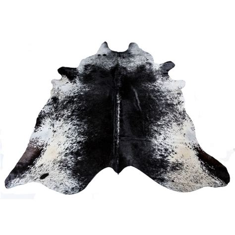 Cowhide Rugs Sydney - all hides and sheepskins black speckled