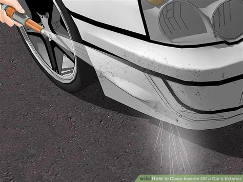 3 ways to clean insects a car s exterior wikihow
