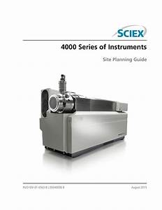 User Guide  4000 Series Of Instruments Site Planning Guide