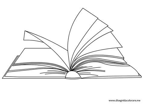 immagini di libri da colorare per bambini libro aperto da colorare disegni da colorare