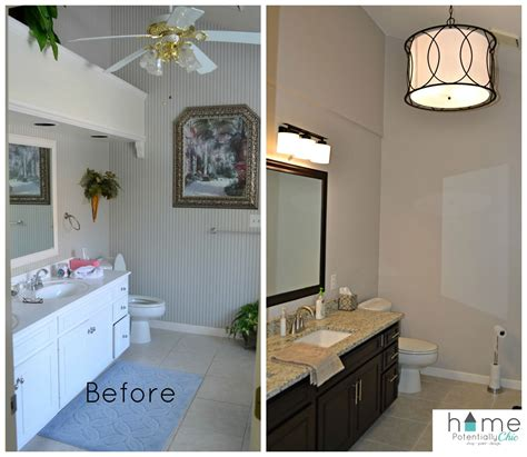 Before And After Kitchen Soffit Removal by Master Bath Before And After Wallpaper Removal Soffit