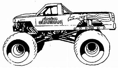Coloring Pages Truck Monster Trucks Google Adults