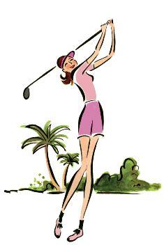 golf author christina ricci  inviting
