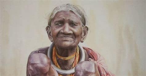 chinmaya panda indian watercolor painter  fine